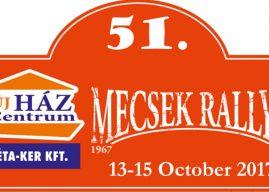 51. Mecsek Rallye – Versenykiírás (Tervezet)